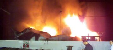 Emergency Fire Assement Oil Storage Hamriya Free Zone, UAE