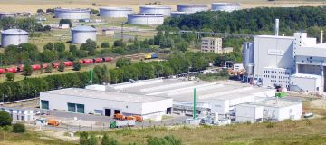 Waste segregation and secondary fuel power plant, Rostock, Germany