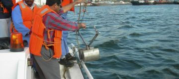 Water and bottom soil monitoring, Dubai Creek, UAE